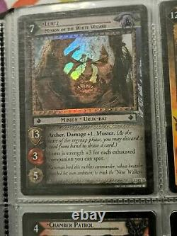 Lord Of The Rings Trading Card Game 12 Card Foil Lot LOTR TCG Rare Foils