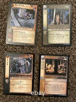 Lord Of The Rings Trading Card Game 2 Starter Decks 132 Cards Plus 9 Rare 1 Foil