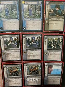 Lord Of The Rings Trading Card Game 34 Card Lot Three Hunters Lot LOTR TCG