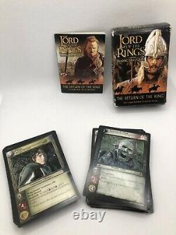 Lord Of The Rings Trading Card Game- 4 Rare Cards included