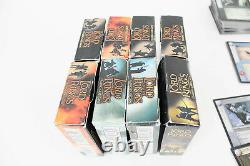 Lord Of The Rings Trading Card Game 8 Starter Decks + Bulk Card Realms Mines