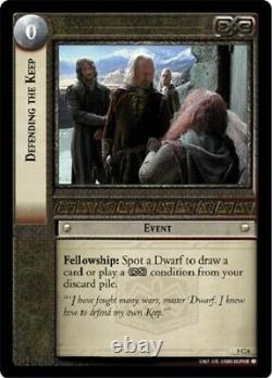 Lord Of The Rings Trading Card Game Battle Of Helm's Deep Common Set Of 40 cards