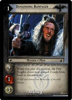Lord Of The Rings Trading Card Game Battle Of Helm's Deep Uncommon Set Of 40