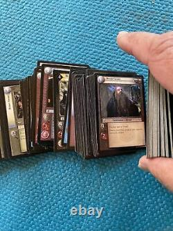 Lord Of The Rings Trading Card Game Cards Lot Of 456 Cards