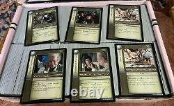 Lord Of The Rings Trading Card Game Decipher Lot Of approx. 1500 Cards
