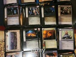 Lord Of The Rings Trading Card Game Decipher Lot Of more than 500 Cards