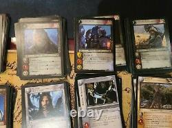 Lord Of The Rings Trading Card Game Decipher Lot Of more than 500 Cards TwoTower