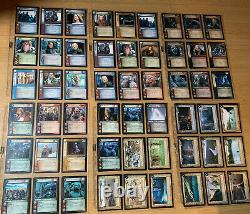Lord Of The Rings Trading Card Game LOTR TCG 700 Cards in Binder some foils
