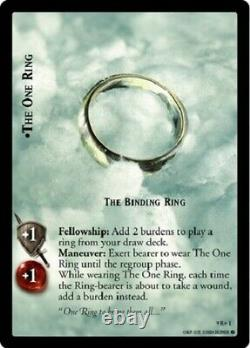 Lord Of The Rings Trading Card Game LOTR TCG Reflections 9R+1 The One Ring Foil