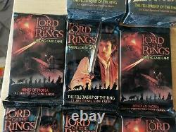 Lord Of The Rings Trading Card Game Lot Of 192 cards. New in Factory Seals