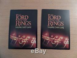 Lord Of The Rings Trading Card Game Lot Of 275 Loose Cards