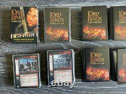 Lord Of The Rings Trading Card Game Massive Job Lot 2000 Plus Cards