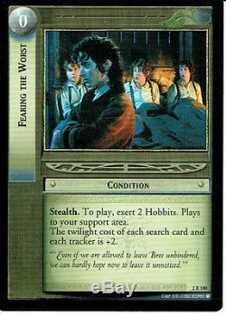 Lord Of The Rings Trading Card Game Rare Card 2r100 Fearing The Worst