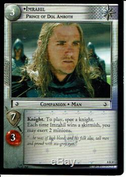 Lord Of The Rings Trading Card Game Siege Of Gondor Rare Card 8r37 Imrahil