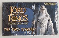 Lord Of The Rings Trading Card Game TWO TOWERS BOOSTER BOX (36 Packs) NIP