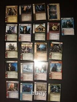 Lord Of The Rings Trading Card Game lot of 21