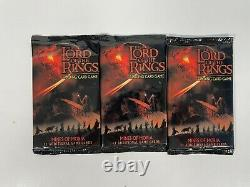 Lord Of The Rings Trading Cards Trading Game Mines Of Moria 3 Packs New