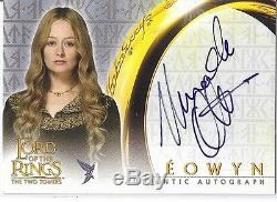 Lord Of The Rings Two Towers Miranda Otto As Eowyn Autograph Card