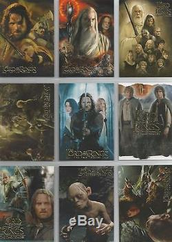 Lord Of The Rings Two Towers TTT Hobby Japan 9 Card Promo Set