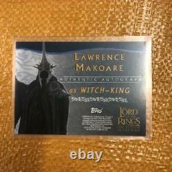 Lord Of The Rings Witch-King Autograph Card