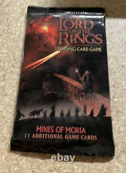 Lord Of The Rings trading card game LORT TCG Mines Of Moria Expansion Pack