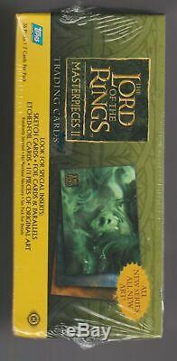 Lord Of The Ringsmasterpiece Iitrading Cardsfactory Sealed Boxtoppsmib