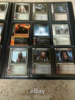 Lord of The Rings Countdown Collection 0P30-0P47 With Binder BONUS CARDS LotR