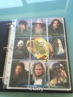 Lord of The Rings Fellowship of The Ring TOPPS signed FOTR Autograph Card set