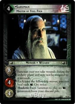 Lord of The Rings TCG Battle of Helm's Deep COMPLETE set 128/128