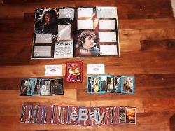 Lord of The Rings The Two Towers Empty Merlin album & complete loose set & more