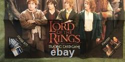 Lord of The Rings Trading Card Game 2001 Promo Poster & Sell Sheet Decipher