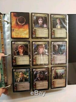 Lord of The Rings Trading Card Game Lot with 7 Foil Cards