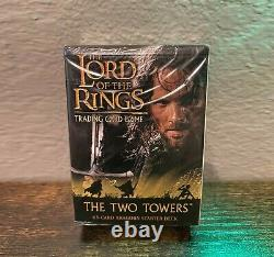 Lord of the Rings Aragorn Deck Two Towers Trading card game Sealed New TCG CCG