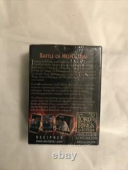 Lord of the Rings Battle Of Helms Deep 60 card Legolas Deck Trading Card Game