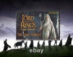 Lord of the Rings Booster Box Two Towers trading card game tcg ccg sealed