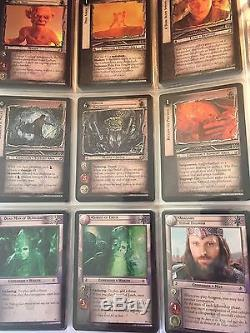 Lord of the Rings Cards TCG Decipher Return of the King Block Lot