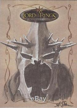 Lord of the Rings Evolution Allison Sohn Witch King Sketch Card