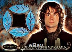 Lord of the Rings Evolution Memorabilia Cards Full Set of 7 Cards