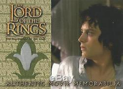 Lord of the Rings Fellowship Frodo's Nightshirt Memorabilia Costume Card