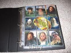 Lord of the Rings Fellowship of the Ring Album Complete Sets 1-162