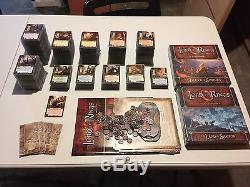 Lord of the Rings LCG Collection With 1,300+ Dragon Shield Sleeves