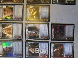 Lord of the Rings LOTR CCG TCG Bloodlines Almost Complete Rare Foil Set