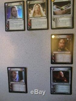 Lord of the Rings LOTR CCG TCG Bloodlines Set of 6 Masterwork Cards