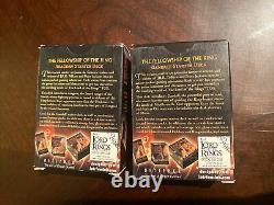 Lord of the Rings LOTR Trading Card Game Fellowship Aragorn Gandalf Starter Deck