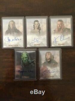 Lord of the Rings LOTR Trilogy CHROME AUTO autograph Liv Tyler Arwen