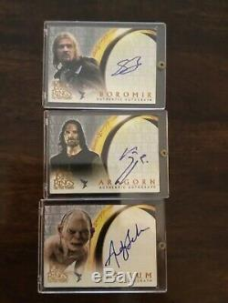 Lord of the Rings LOTR Two Towers UPDATE AUTO autograph Mortensen Aragorn