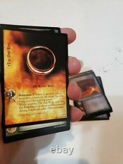 Lord of the Rings LOTR trading card game TCG 2003 Decipher 60 cards Hobbit troll