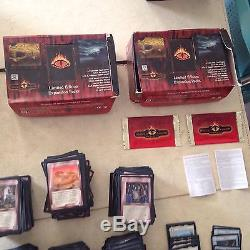 Lord of the Rings Middle-earth CCG The Dragons 1,265 Card Lot (R, U, C)