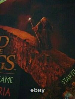 Lord of the Rings Mines of Moria Trading Card Game 2002 promo poster new 27 x 27