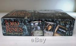 Lord of the Rings Realms of the Elf Lords Decipher LOTR TCG Sealed Booster Box